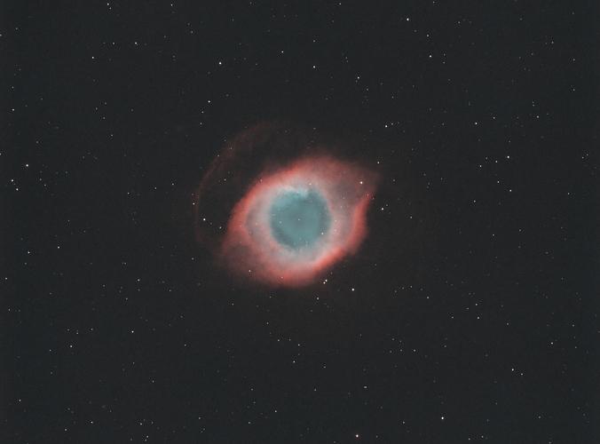 NGC 7293 HOO v3