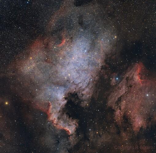 NGC7000_RGBHaOIII_50pc