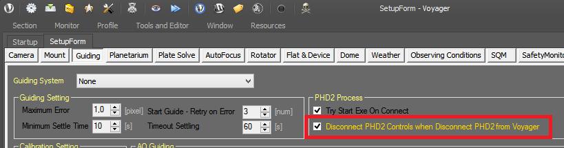 PHD2Astrophysics